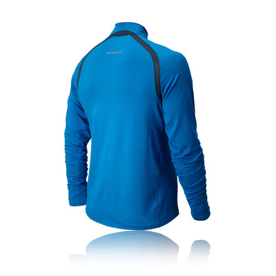 New Balance Impact Half Zip Long Sleeve Running Top - AW14 picture 2
