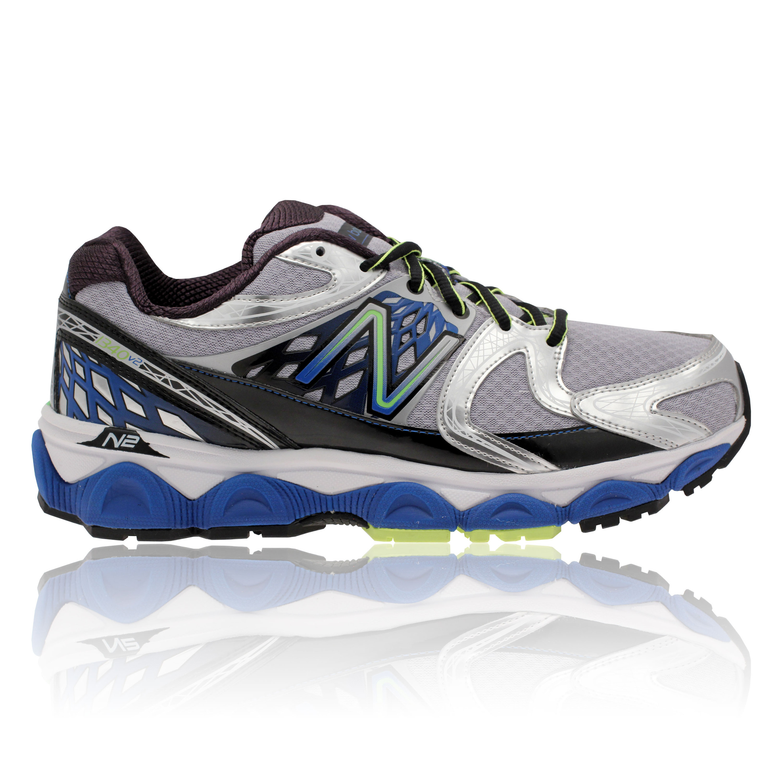 New-Balance-M1340v2-Mens-Grey-Blue-Control-Running-Sports-Trainers-Shoes