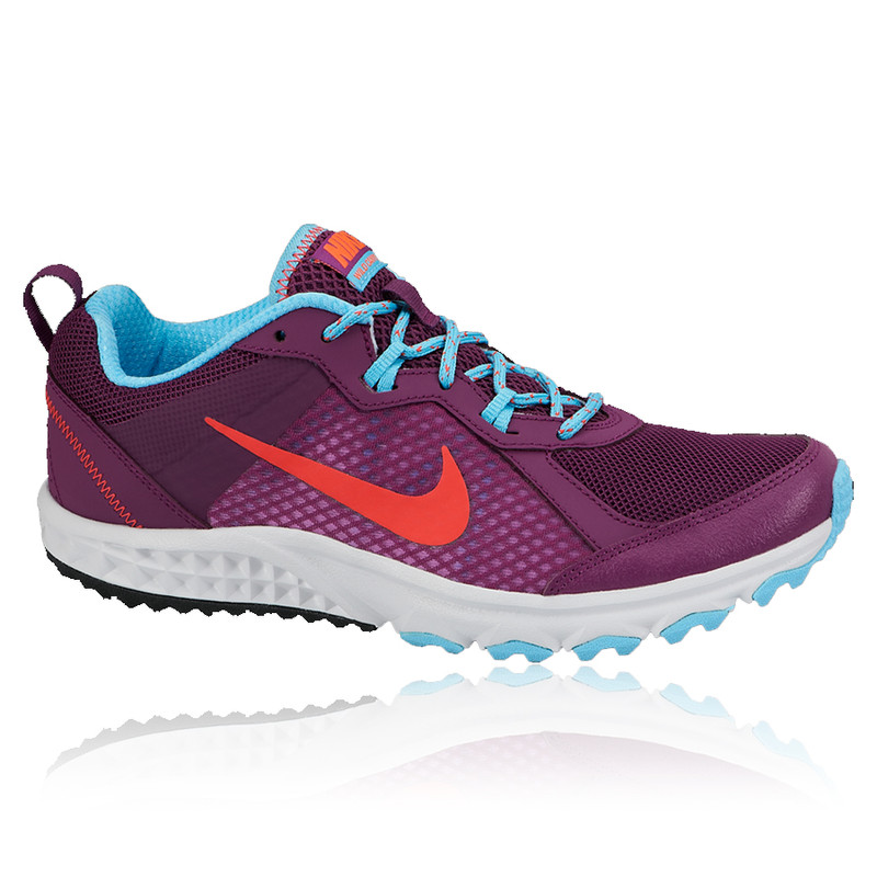 Unique Nike Zoom Wildhorse - Womens Trail Running Shoes - Purple/Navy/Orange Online | Sportitude