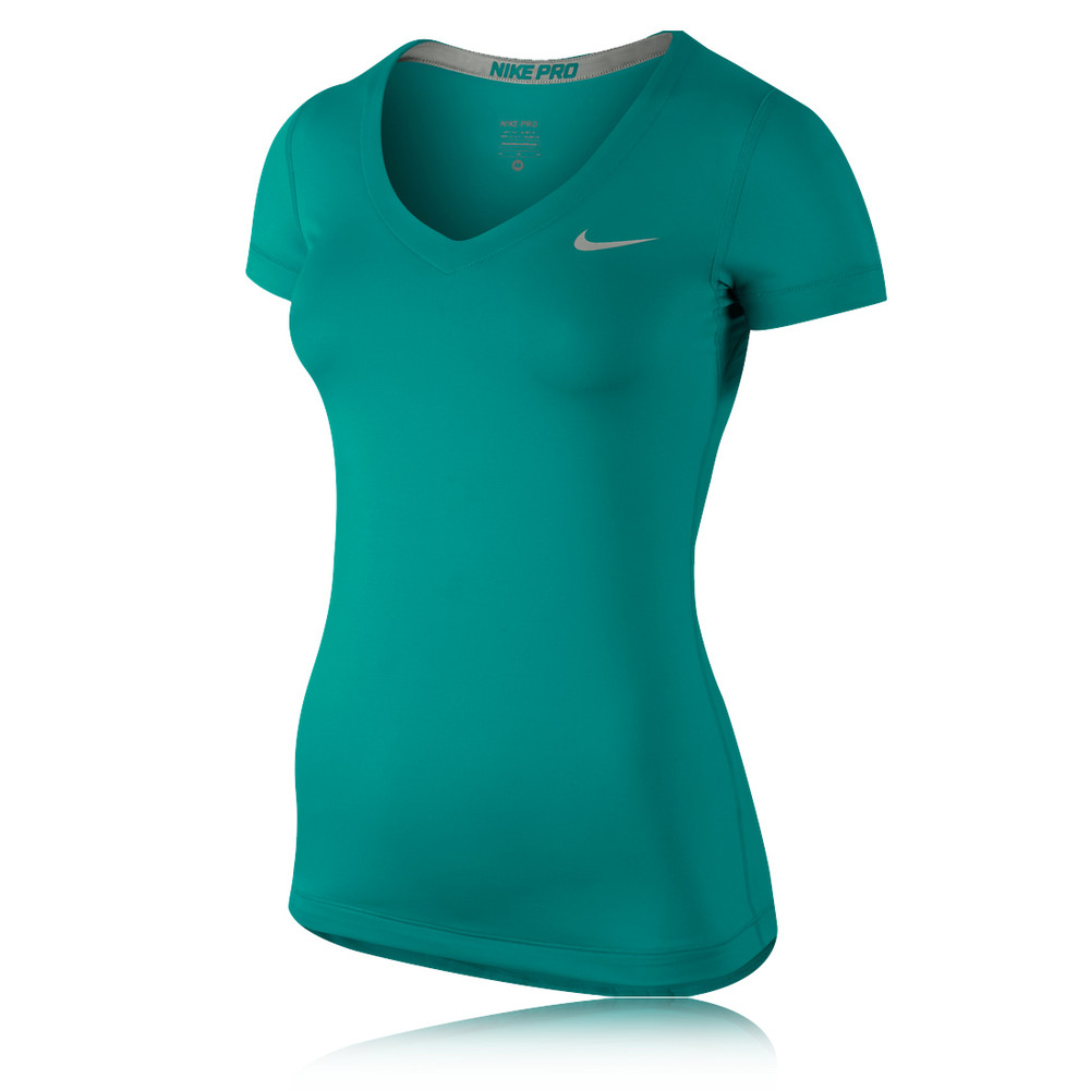 Nike Pro Women 39 S Fitted Short Sleeve Running T Shirt