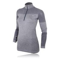 Nike Dri-Fit Knit Women's Long Sleeve Half Zip Top