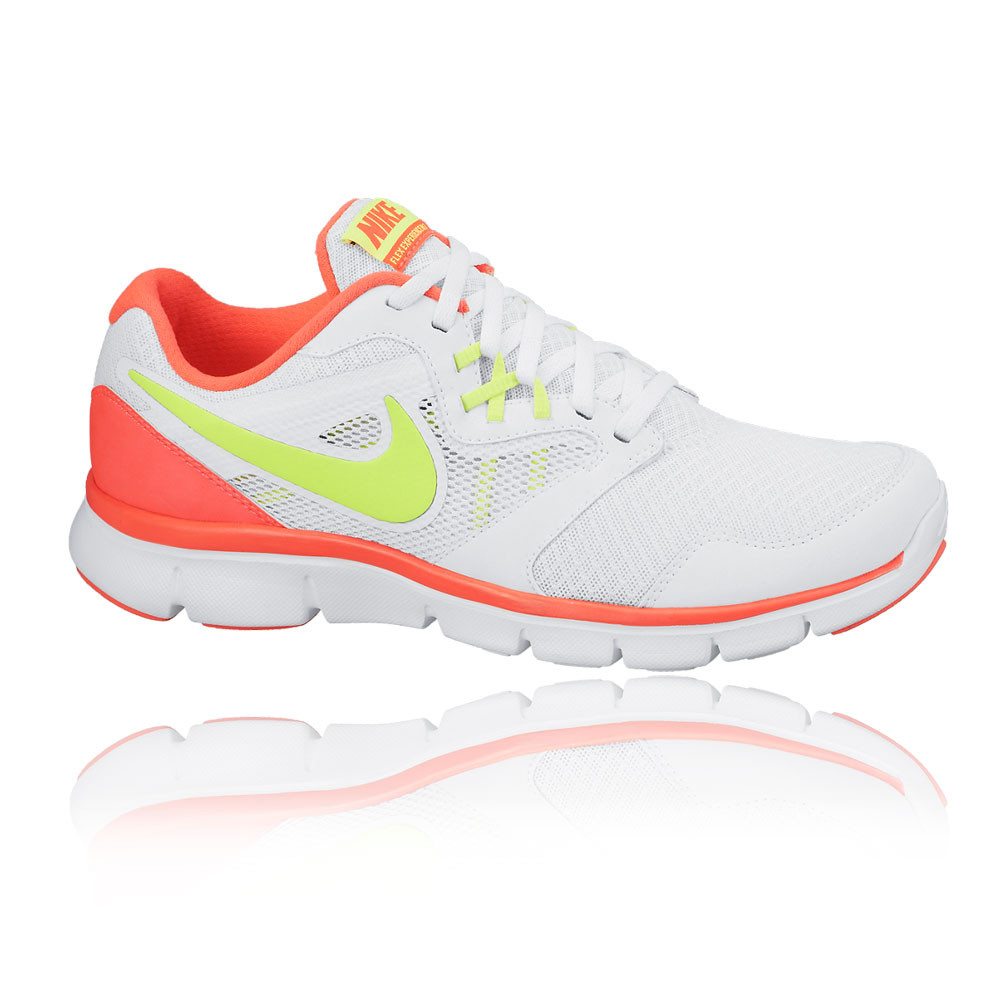 New Womens 12 Nike Flex Experience RN Thunder Blue Lime Running
