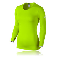 Nike Pro Hyperwarm Crew 3.0 Women's Long Sleeve Compression Top - HO14