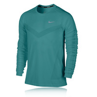 Nike Dri-Fit Knit Long Sleeve Running Top - HO14