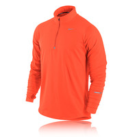 Nike Element Half-Zip Long Sleeve Running Top - HO14