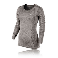 Nike Dri-Fit Knit Women's Running Long Sleeve Top - HO14