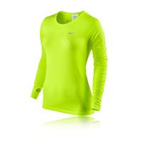 Nike Dri-Fit Knit Women's Long Sleeve Running Top - HO14