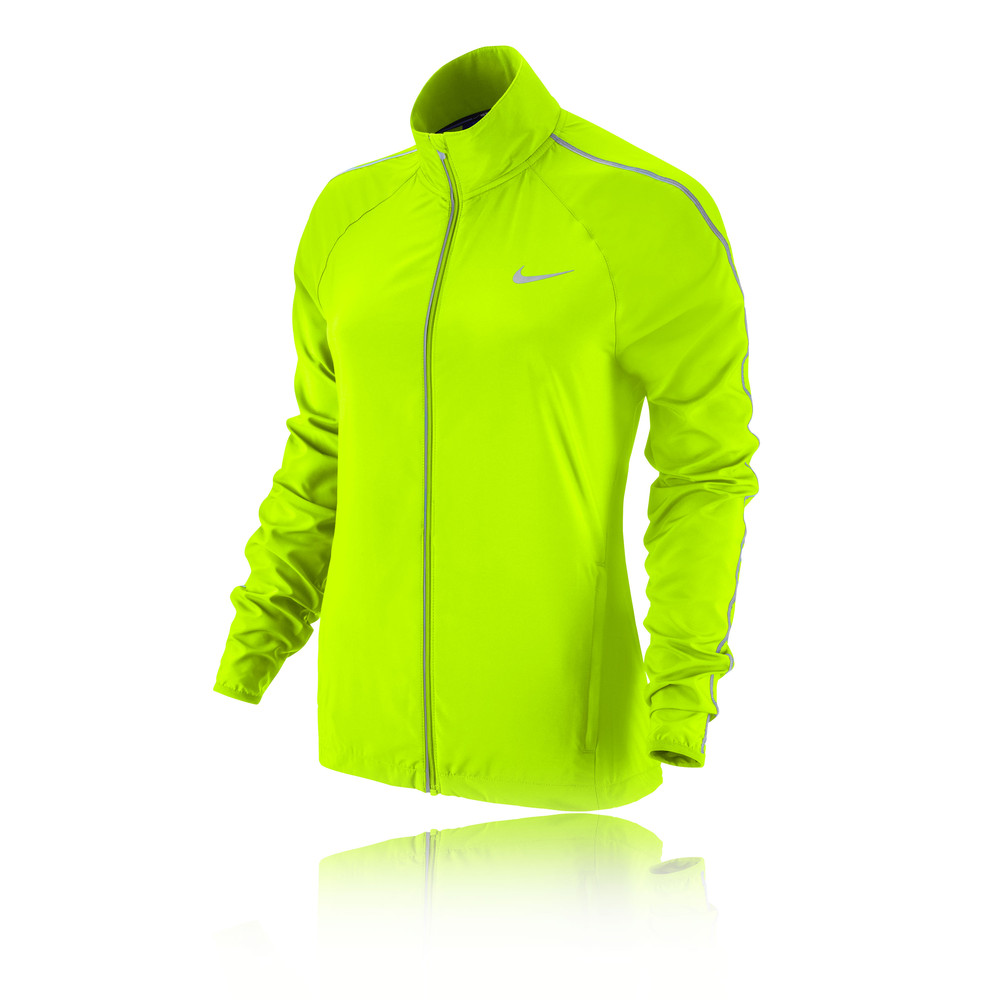 Nike hi viz women 39 s running jacket ho14 for Hi viz running shirt