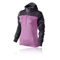 Nike Thermal Women's Half-Zip Long Sleeve Hooded Top - HO14