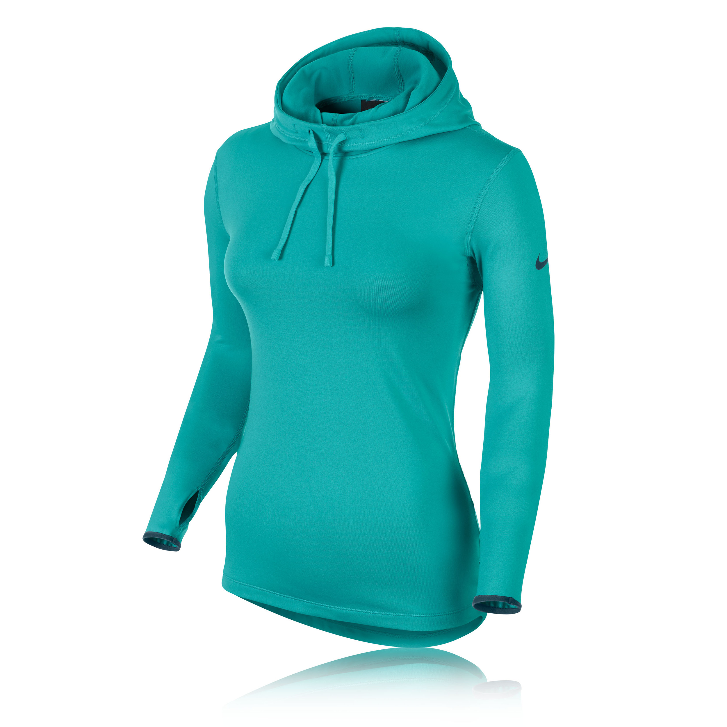 Nike Pro Hyperwarm Women 39 S Long Sleeve Hooded Top Ho14
