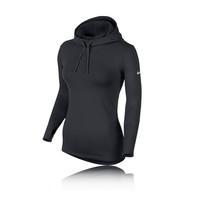 Nike Pro Hyperwarm Women's Long Sleeve Hooded Top - HO14
