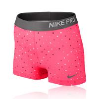 Nike Pro 3 Inch Polka Square Women's Running Shorts