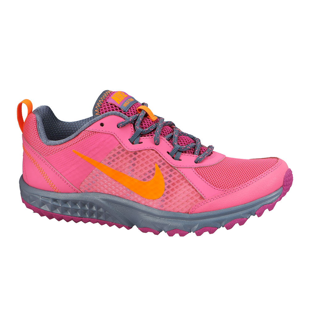 Original Nike Flex Trail - Womens Trail Shoes - Grey/Pink/Blue Online | Sportitude