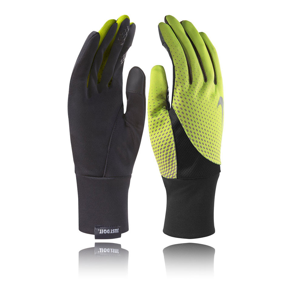 Nike Velcro Gloves: Nike Dri-Fit Tailwind Running Gloves