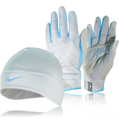 Nike Lady Dri-Fit Running Hat and Gloves Gift Pack picture 1