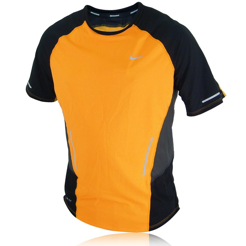 Nike sphere short sleeve running t shirt for Nike short sleeve shirt