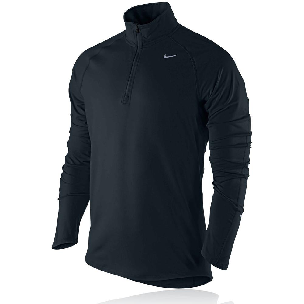 Nike Element Long Sleeve Half Zip Running Top