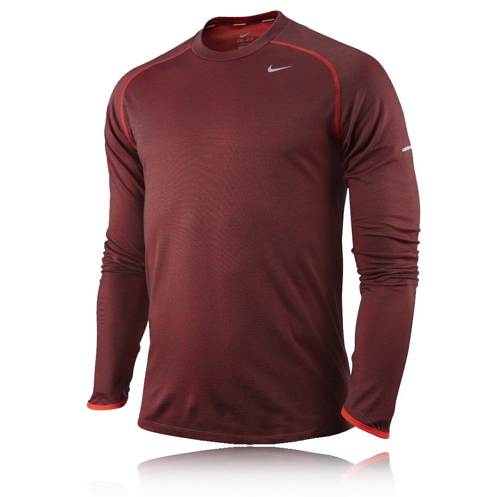 Nike Wool Long Sleeve Crew Running Top