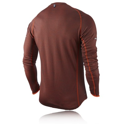 Nike Wool Long Sleeve Crew Running Top picture 2