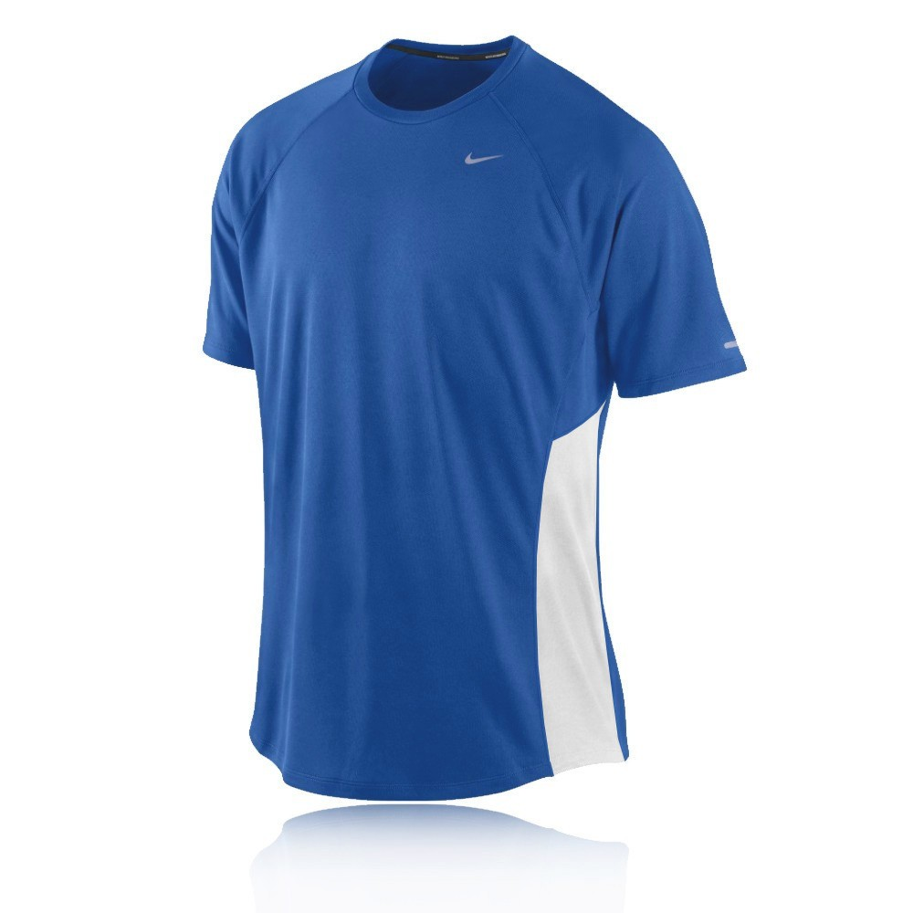 Nike miler dri fit uv short sleeve t shirt for Buy dri fit shirts