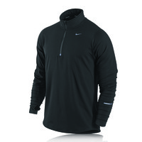 Nike Element Half Zip Long Sleeve Running Top