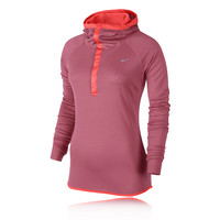 Nike Wool Women's Long Sleeve Hooded Running Top