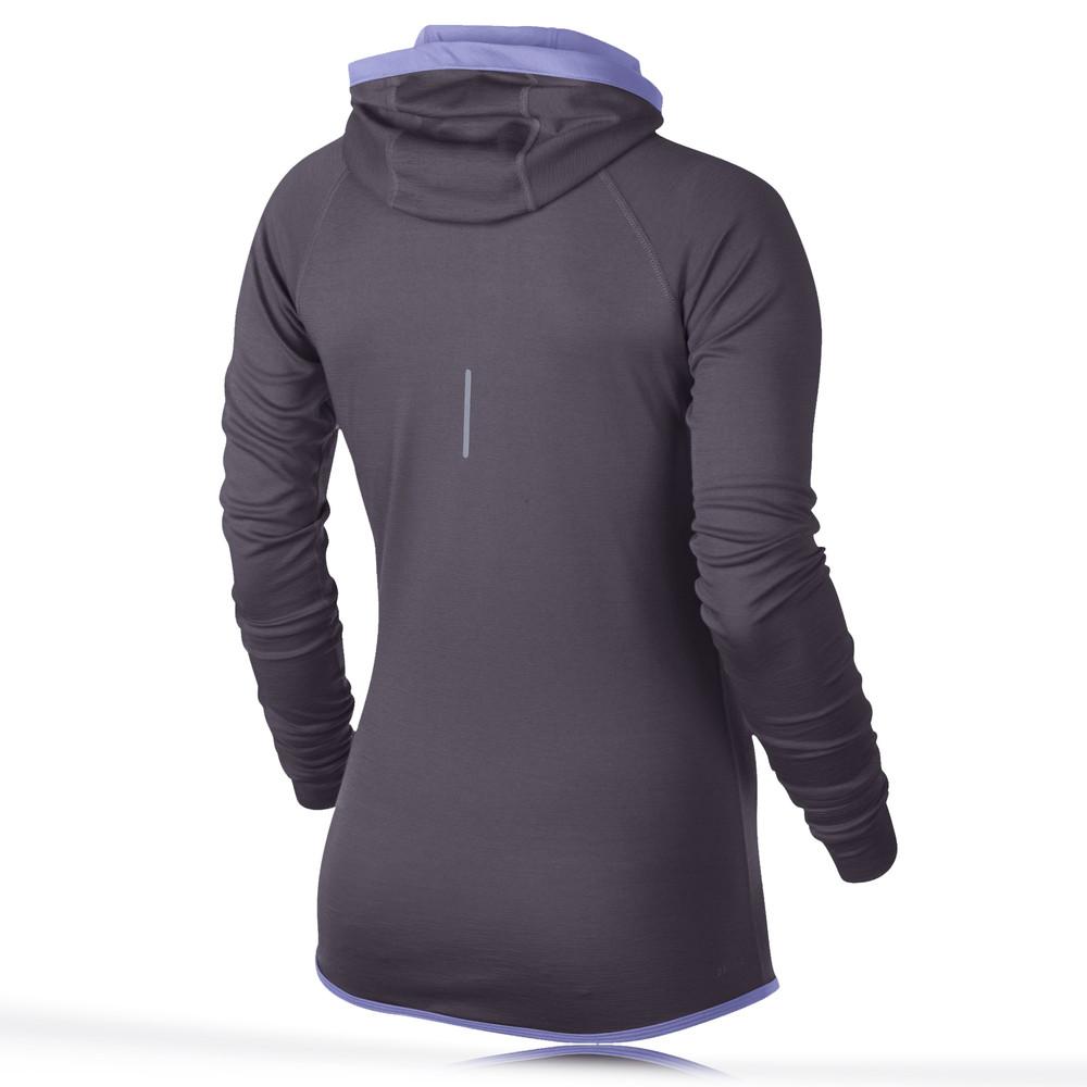 Nike Wool Women 39 S Long Sleeve Hooded Running Top