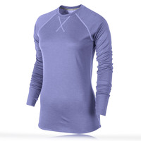 Nike Wool Women's Crew Neck Long Sleeve Running Top