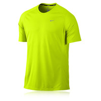 Nike Miler Dri-Fit UV Short Sleeve Running T-Shirt