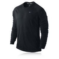 Nike Miler Dri-Fit UV Long Sleeve Running Top