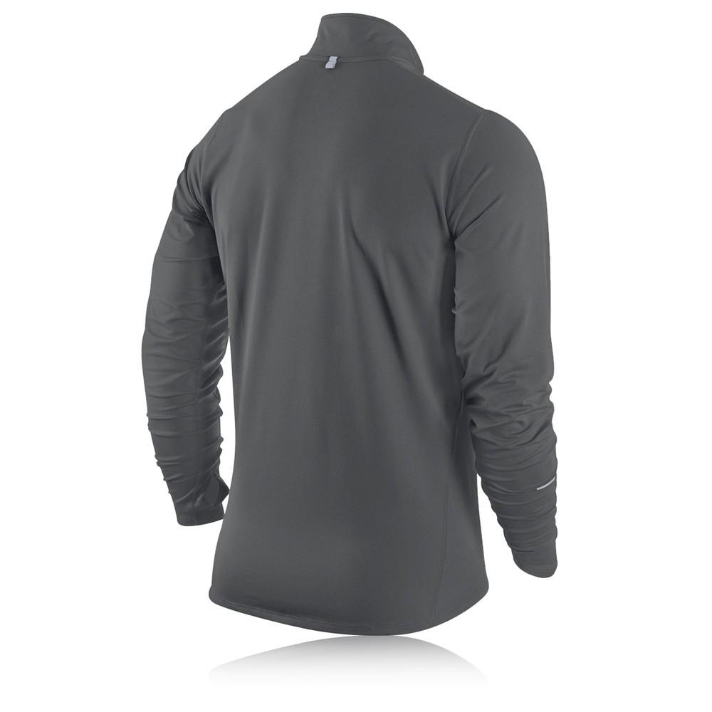 Nike Element Half Zip Long Sleeve Running Top