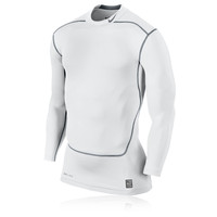 Nike Pro Core 2.0 Mock Long Sleeve Compression Running Top