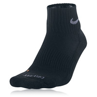 Nike Dri-Fit Half-Cushion Quarter Running Socks