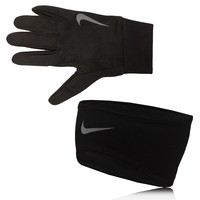 Nike Dri-Fit Glove and Headband Running Set