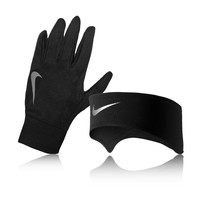 Nike Lady Dri-Fit Glove and Headband Running Set