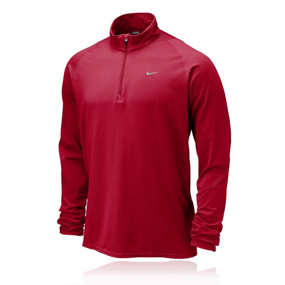 Nike Element Dri Fit Half Zip Long Sleeve Top