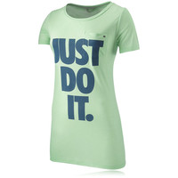 Nike Lady Just Do It Boyfriend Running T-Shirt