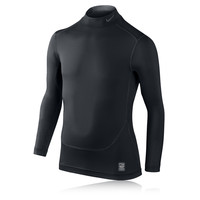 Nike Junior Pro Core Mock Compression Long Sleeve Top