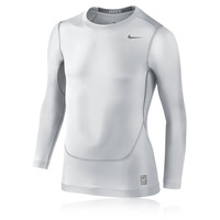 Nike Junior Pro Core Crew Compression Long Sleeve Top