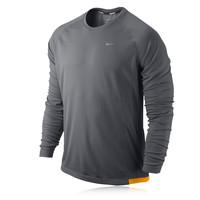 Nike Miler Dri-Fit UV Long Sleeve Running Top