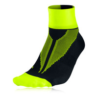 Nike Elite Hyperlite Quarter Running Socks - HO14