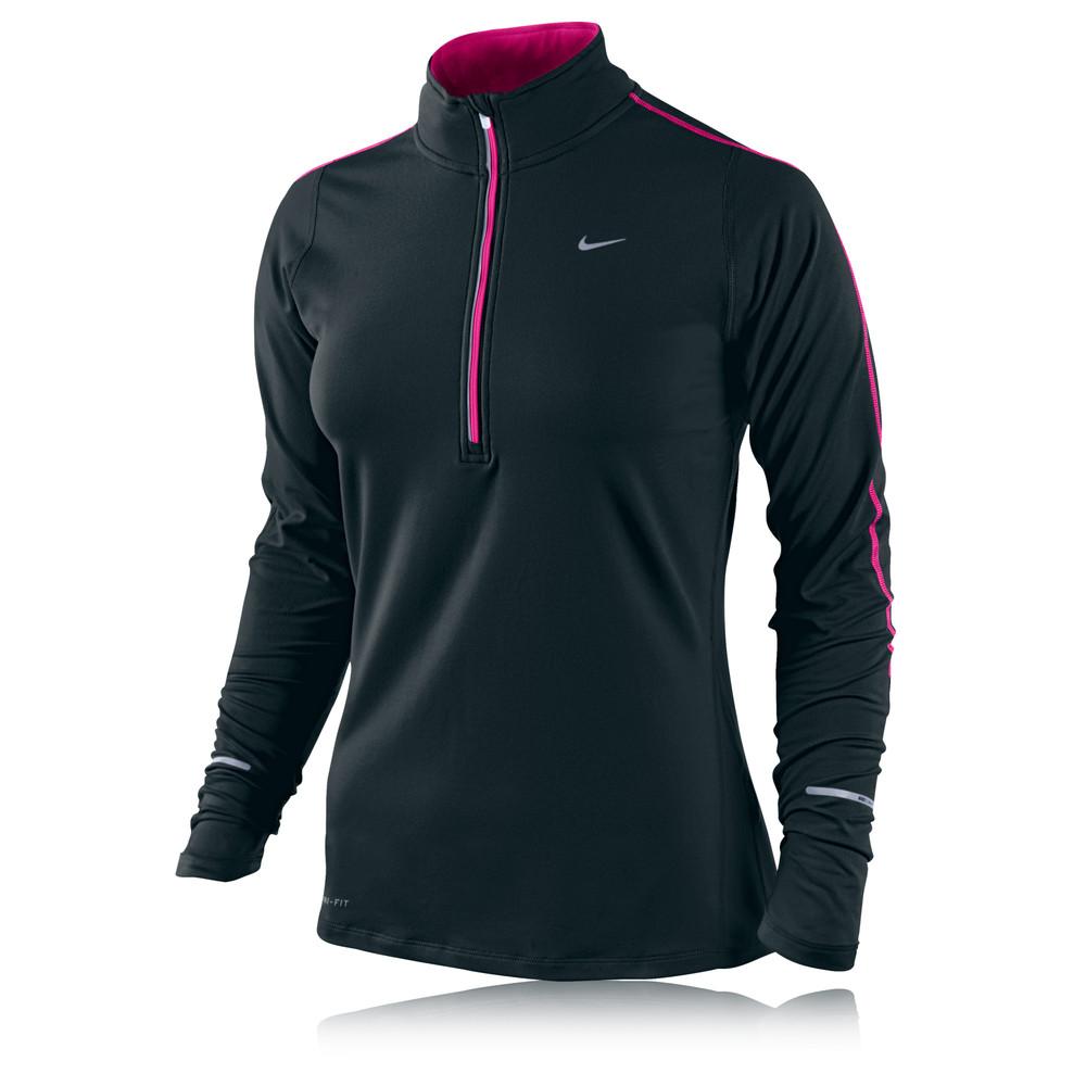 Nike Racer Half Zip Long Sleeve Running Top Sportsshoes