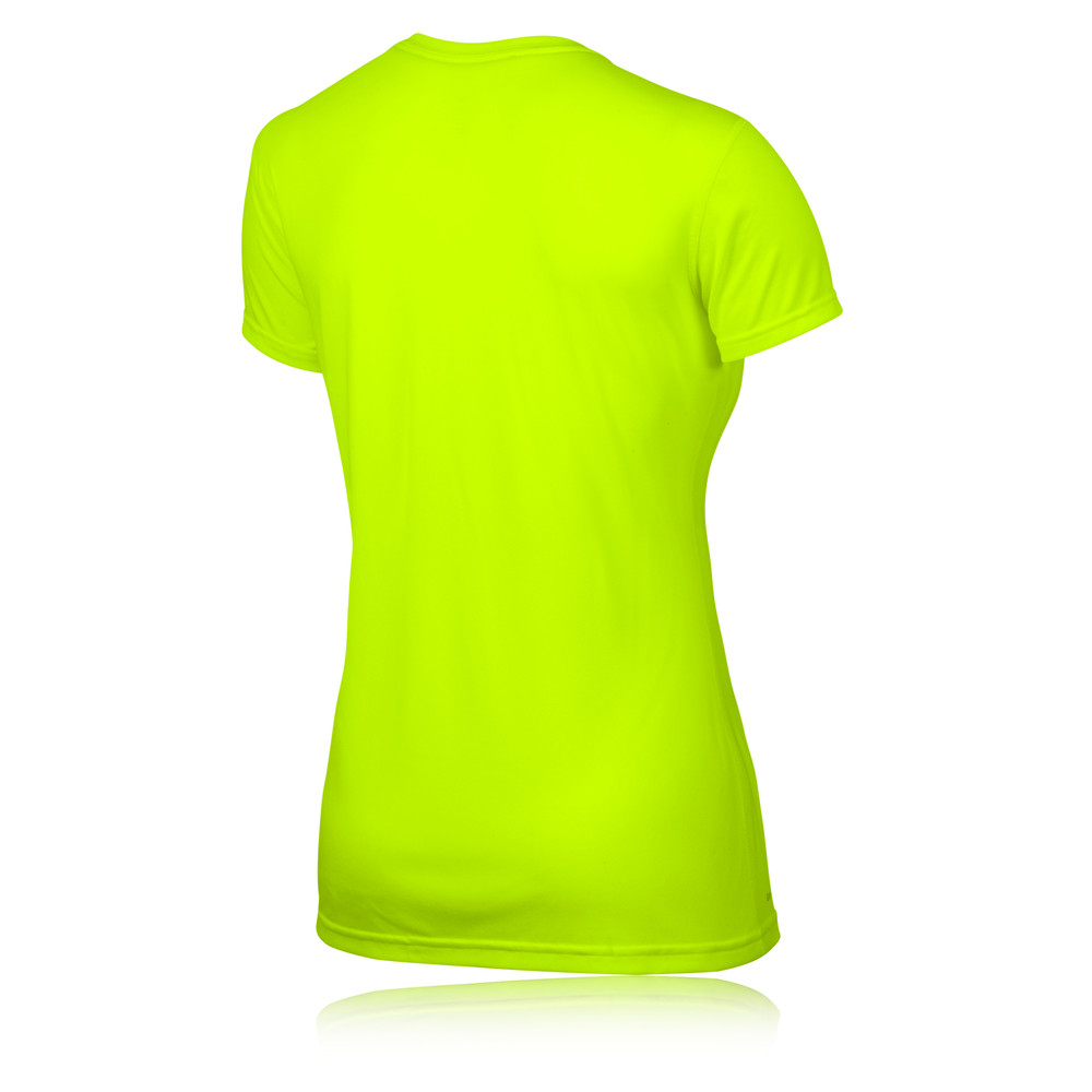 nike legend reflective women 39 s short sleeve running t