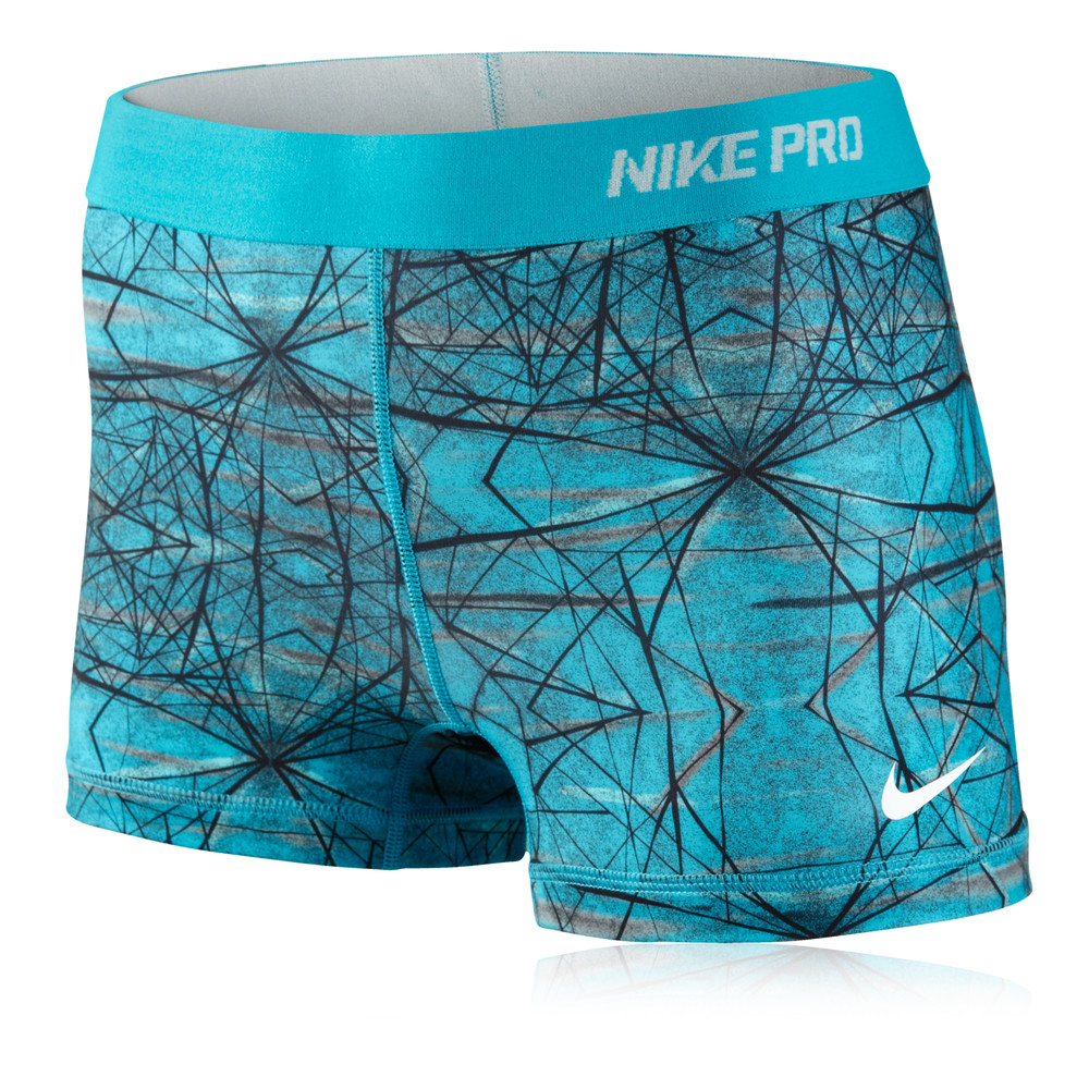 nike pro ii printed women 39 s 2 5 inch compression running. Black Bedroom Furniture Sets. Home Design Ideas