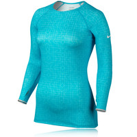 Nike Pro Hyperwarm Crew II Women's Long Sleeve Running Top