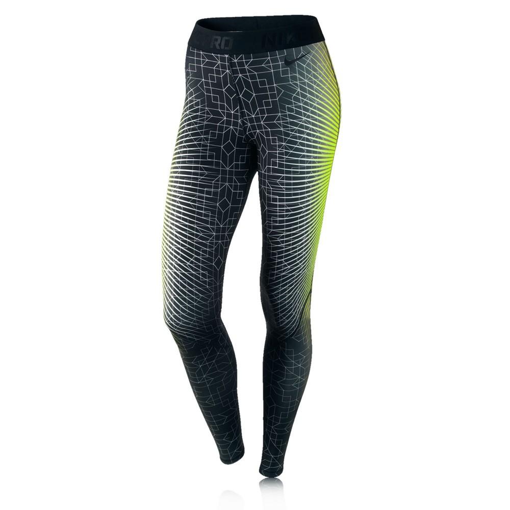 nike pro hyperwarm ii women 39 s printed running tights. Black Bedroom Furniture Sets. Home Design Ideas