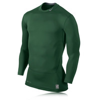 Nike Pro Core 2.0 Compression Mock Long Sleeve Running Top