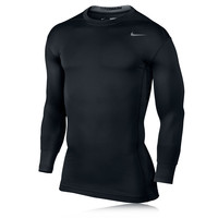 Nike Pro Hyperwarm Dri-Fit Crew 2.0 Compression Running Top