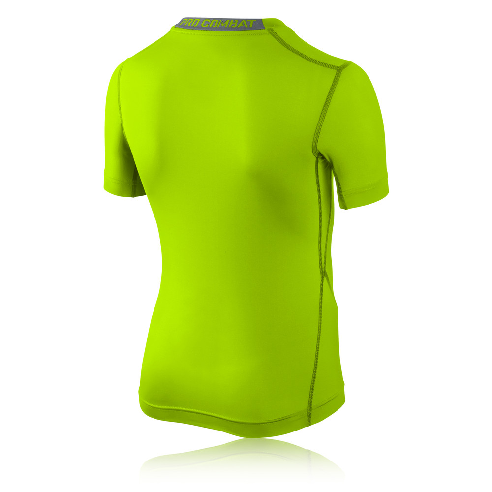 Nike Pro Core Junior Short Sleeve Compression Running T-Shirt