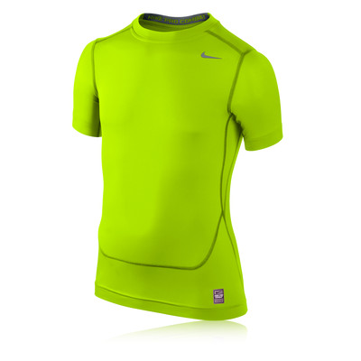 Nike Pro Core Junior Short Sleeve Compression Running T-Shirt picture 1